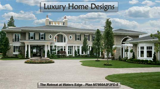 Click to view Luxury Home Design Plans.