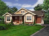 Garage Side House Plans